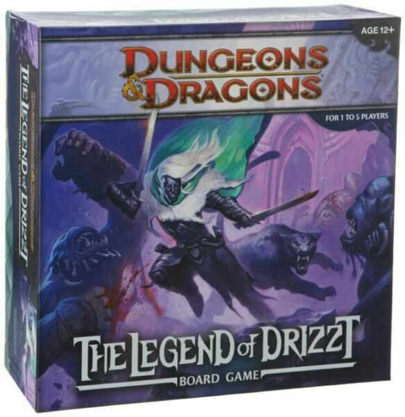 Dungeons and Dragons: The legend of Drizzt