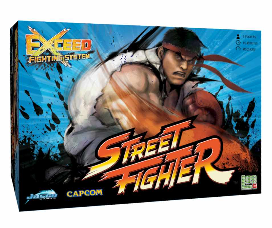Exceed Street Fighter: Ryu Box